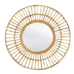 MD Interior Golden Sun spiegel rotan ø50 cm