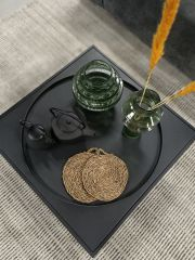 Nordal theepot met deksel gietijzer zwart 9 cm
