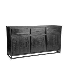Label51 dressoir Chili 170x45x90 mangohout zwart