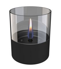 TENDERFLAME Lilly 10 Black Glass
