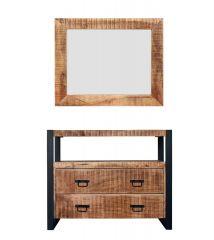 MD Interior Woodz spiegel 100x70 cm