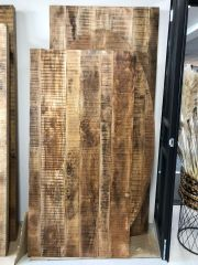 MD Interior Woodz tafelblad mangohout 200 x 90