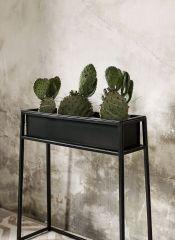 Nordal Denmark Plantenbak op standaard ijzer zwart