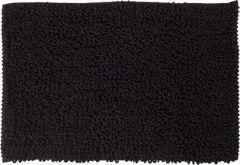 Sealskin badmat Furry antraciet microfiber 60x90