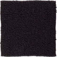 Sealskin badmat Furry antraciet microfiber 60x60