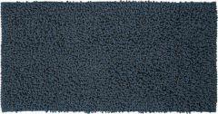 Sealskin badmat Furry blauw microfiber 60x120