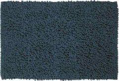 Sealskin badmat Furry blauw microfiber 60x90