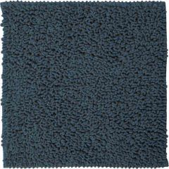 Sealskin badmat Furry blauw microfiber 60x60