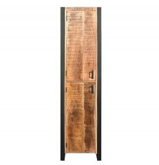 MD Interior Woodz badkamerkast 200x50x40cm mangohout links draaiend