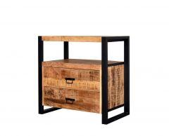 MD Interior Woodz wandkast 80cm mangohout