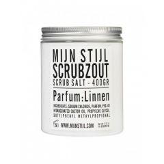 Mijn Stijl Zak Scrubzout Parfum Linnen 400 ML