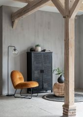 Must living Bouton fauteuil oker 79x60x80 cm