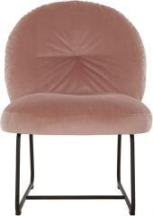 Must living Bouton fauteuil roze 79x60x80 cm