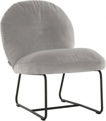 Must living Bouton fauteuil slate grey 79x60x80 cm