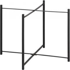 MUST Living onderstel laag zwart 43 x Ø59 cm