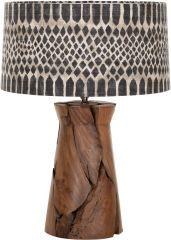 Must Living Tafellamp jungle tribal small 52 x Ø 35 cm