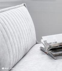 Must Living sofa Rally 4-zitsbank licht grijs 308cm