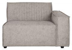 Must Living sofa Rally element arm rechts licht grijs