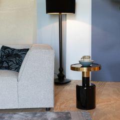 Zuiver bijzettafel Glam - Zwart 51 cm hoog