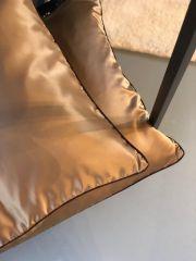 Nordal AIN kussenhoes lichtbruin/goud 50x50