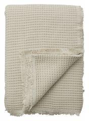 Nordal ALPHA - plaid - bedsprei beige 260 x 260 cm