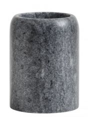 Nordal tandenborstelhouder zwart grijs marmer
