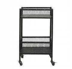 Nordal EASY trolley zwart metaal  91 cm