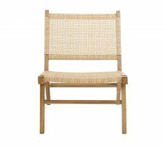 Nordal VASAI lounge stoel naturel