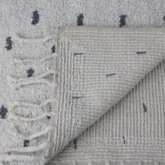 À La badmat stippen wit 80 x 50 cm