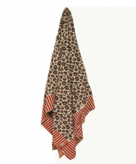 Doing Goods Leopard Throw Plaid