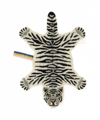 Doing Goods Snowy Tiger Rug Small