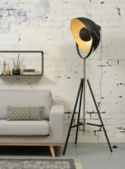 Its About RoMi staande lamp groot 3-poot ijzer zwart
