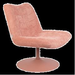 Zuiver BUBBA retrolounge fauteuil pink