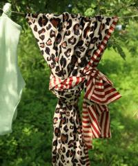 Doing Goods Leopard Single Throw Plaid