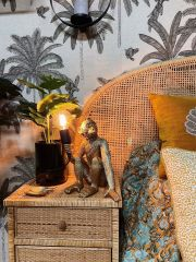 MD Interior Aap tafellamp goud 30 cm