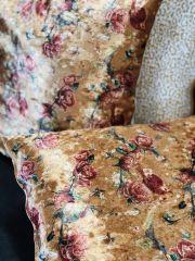 Home Junky Kussen Roses Velvet Yellow 45 x 45 cm