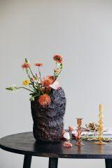 Nordal CHIROS kandelaar koraal 17 cm