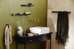 Nordal SOTRA handdoekrek metaal zwart 65 cm