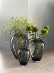 Vase the World Kander grey Ø 27.5 x H 35 cm