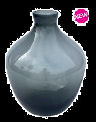 Vase the World Traun grey Ø23,5 x H30 cm