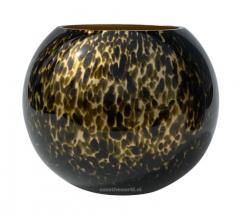 Vase the World Zambezi gold cheetah Ø25 , H205 cm